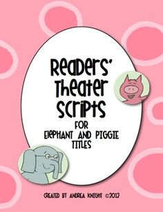Read to Someone: Find readers theatres that have a maximum of 4 characters where a pair can split the characters and read through together during Read to Someone