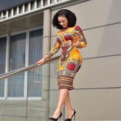 Ankara Short Gown Dresses: Styles for Female 2019 Ankara Short Gown Dresses, Ankara Dress Styles, African Print Dresses, African Print Fashion, African Fashion Dresses, African Dress, Fashion Outfits, Africa Fashion, African Prints