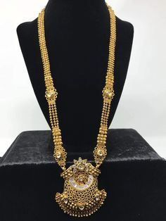 Latest Gold Necklace Set Designs With Price Gold As