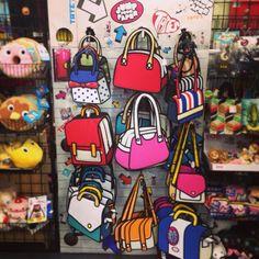 jump from paper handbags Tokyo Decadence, Jump From Paper, Disney Kitchen Decor, Kawaii Bags, Briefcase Women, Cartoon Bag, Plushie Patterns, Novelty Bags, Diy Purse