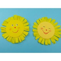 Sonne basteln – einfache Anleitung für die Kinder – Rebel Without Applause Summer Crafts For Toddlers, Crafts For Seniors, Toddler Crafts, Diy For Kids, Kids Crafts, Diy Crafts To Do, Easy Crafts, Arts And Crafts, Sunflower Crafts
