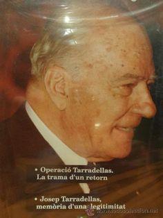 JOSEP TARRADELLAS. LA TRAMA D'UN RETORN / MEMÒRIA D'UNA LEGITIMITAT. DVD PRECINTADO.