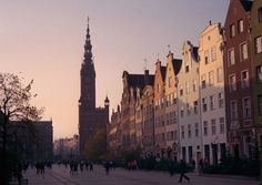 Pictures of towns and landscapes of Poland, photo of The Long Market, Długi Targ, of Gdansk. Visit Poland, Barbie World, Krakow, Travel List, Countries Of The World, Dog Walking, San Francisco Skyline, Places Ive Been, New York Skyline