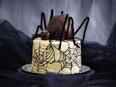 Spinnen-Torte