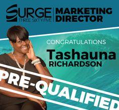 Congratulations Tashauna Richardson! | Wavebreak – Surge365