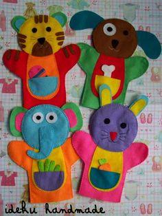 ideku handmade: hand puppet