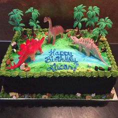 Kids Value Cakes - Amphora Bakery Dinasour Birthday Cake, 3rd Birthday Cakes, Dinosaur Birthday Party, 4th Birthday Parties, Boy Birthday, Elmo Party, Mickey Party, Birthday Ideas, Cake Pricing