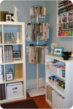 how to make your own embellishment hanger for hanging tissue sheets, paper, etc.. my idea to make... can use lamp shade rings, clothes pins, old lamp stand