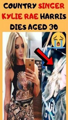 Rising country music artist, Kylie Rae Harris, was involved in a horrific car accident that unfortunately ended her life. Country Music Artists, Country Singers, Eggless Red Velvet Cake, Age 30, Wedding Desserts, Cute Wallpapers, New Product, Kylie, In This Moment