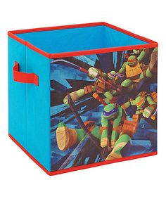 Love this TMNT Action Storage Cube on #zulily! #zulilyfinds