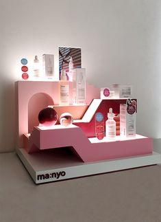 Ma:nyo Factory VMD Module – 디자인 밀리미터 Module Design, Pos Design, Stand Design, Retail Design, Pos Display, Display Design, Booth Design, Cosmetics Display Stand, Cosmetic Display