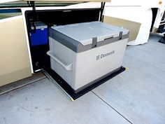 Build your own slide-out storage tray for your RV