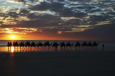 8 holiday experiences every Aussie should have #escapesnaps Location: Cable Beach, Broome