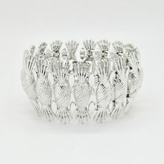 '60s Pineapple Bracelet, $160, now featured on Fab.