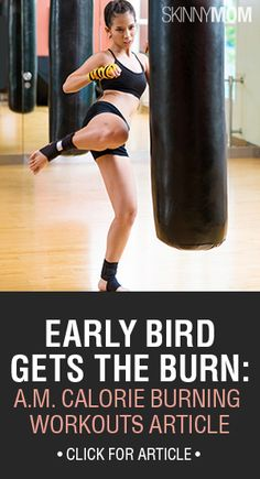 Try these 5 Morning Calorie-Torching Workouts! These will give you a great start to your day!