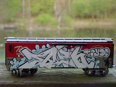 """Such tiny spray cans"" KB toy train graffiti Graffiti Words, Graffiti Tagging, Graffiti Alphabet, Graffiti Art, Street Graffiti, Street Art, Wall Street, Graffiti Tattoo, Graffiti Lettering"