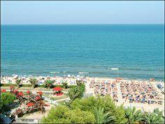 La spiaggia di Alba Adriatica #albaadriatica #abruzzo #hotel