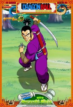 Dragon Ball - Murasaki Ninja by DBCProject