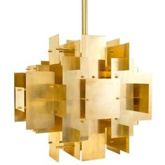 Jonathan Adler Puzzle Chandelier found on Polyvore