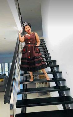 Latest African Fashion Dresses, African Dresses For Women, African Print Dresses, African Prints, Latest Fashion, South African Traditional Dresses, Traditional Dresses Designs, African Inspired Fashion, African Print Fashion