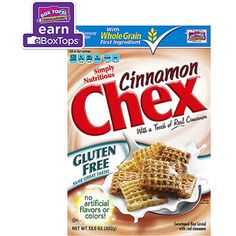 Chex Cinnamon Cereal, 13.5 oz