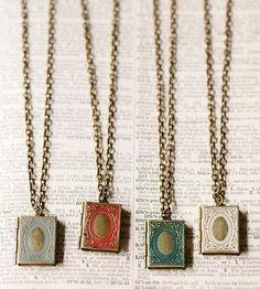 Love Story Locket Necklace