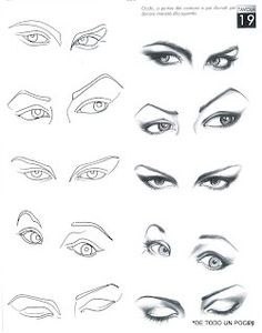 drawing eyes ✤ || CHARACTER DESIGN REFERENCES | キャラクターデザイン | • Find more at & li and more || ✤