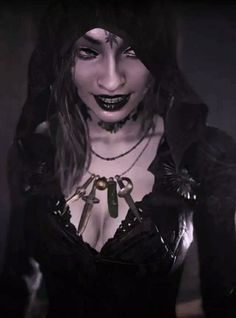 Resident Evil Girl, Post Apocalyptic Art, Village Girl, Movies Showing, Goth, Daughter, Cosplay, 3d Character, Vampires