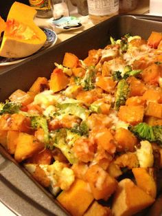Cheesey Baked Butternut Squash Casserole