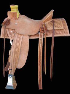 Cust Saddle 859 made in USA Item# 863 - $5,750.00