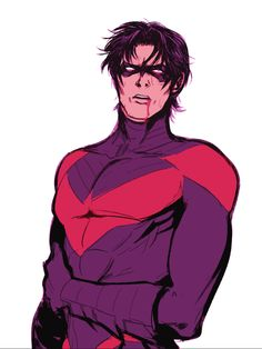 Holy blood Nightwing, Batman. Nightwing. Dick Grayson. <3