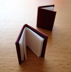 how to make a mini book - great instructions