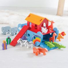 Personalised Noah's Ark - gifts for babies