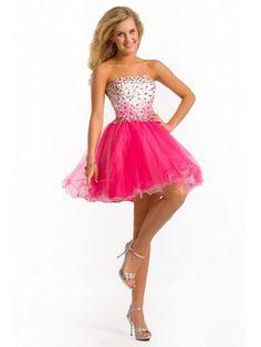 Bridesmaids--ruffle-like trimming on skirts Ballerina tutu prom ...