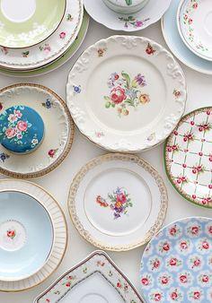 cath kidston tea plates