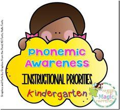 Great blog post about the phonemic awareness instructional priorities for kindergarten and first grade. (scheduled via http://www.tailwindapp.com?utm_source=pinterest&utm_medium=twpin&utm_content=post6229928&utm_campaign=scheduler_attribution)