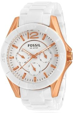Capri Jewelers Arizona ~ www.caprijewelersaz.com  Fossil Watch , Woman's Ceramic watch CE1006