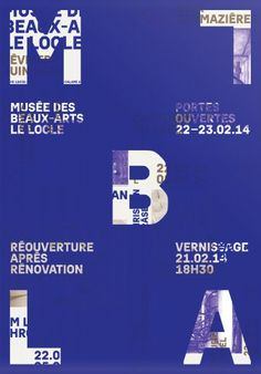 Museum of Fine Arts, Le Locle: Corporate Identity - onlab