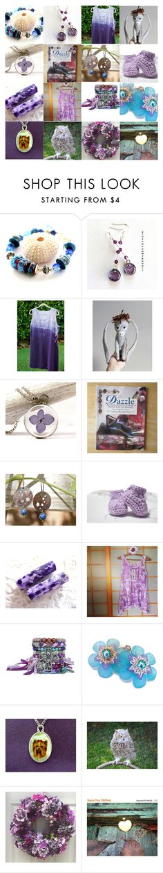 """""""Treasury Time!"""" by artbymarionette ❤ liked on Polyvore featuring integrityTT and EtsySpecialT"""