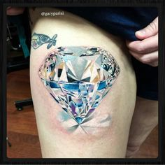 Diamond - Gary Parisi @garyparisi - 1610 W Grand Ave Chicago IL #tattoo…