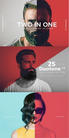 Add Double Exposure or Duotone FX on Photoshop with few clicks. Add Double Exposure or Duotone FX on Photoshop with few clicks. Photoshop For Photographers, Photoshop Brushes, Photoshop Design, Photoshop Photography, Photoshop Tutorial, Photoshop Actions, Photoshop Book, Photoshop Face, Adobe Photoshop