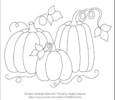 traceable images for watercolor painting Fall Canvas Painting, Acrylic Painting Lessons, Autumn Painting, Pumpkin Drawing, Pumpkin Art, Pumpkin Painting, Halloween Doodle, Halloween Rocks, Patch Aplique