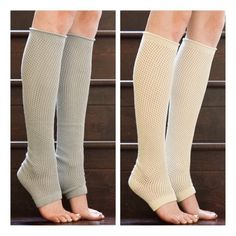 • Leg Warmers • Dancer style leg warmer socks. Covers half of foot up to heel. 80% cotton, 20% nylon. So cozy! Available in choice of GREY OR IVORY. PLEASE DO NOT PURCHASE THIS LISTING. Comment which color (s) you'd like to purchase and I'll make you a new listing. Jennifer's Chic Boutique Accessories Hosiery & Socks