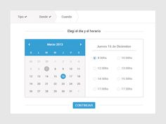 Calendar Flow by Andrés Vizio for Aerolab
