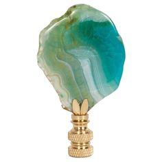 Hillary Thomas Rock n Rolla Careless Whisper Lamp Finial @Zinc_Door