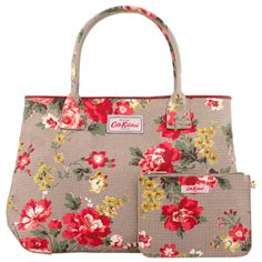 Winter Rose Embossed Handbag Tote