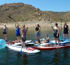 Stand Up Paddle Arizona – Stand Up Paddle Board Rentals, Lessons & Fitness Training!