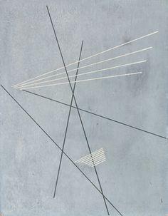 Rodchenko LInear Construction 1919, canvas