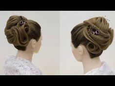 Урок идея экспресс прически на длинные волосы. - YouTube