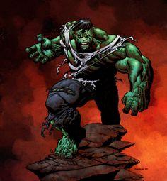 #HULK #Fan #Art. (Hulk crush puny human..) By: Taurus1977. ÅWESOMENESS!!!™ ÅÅÅ+